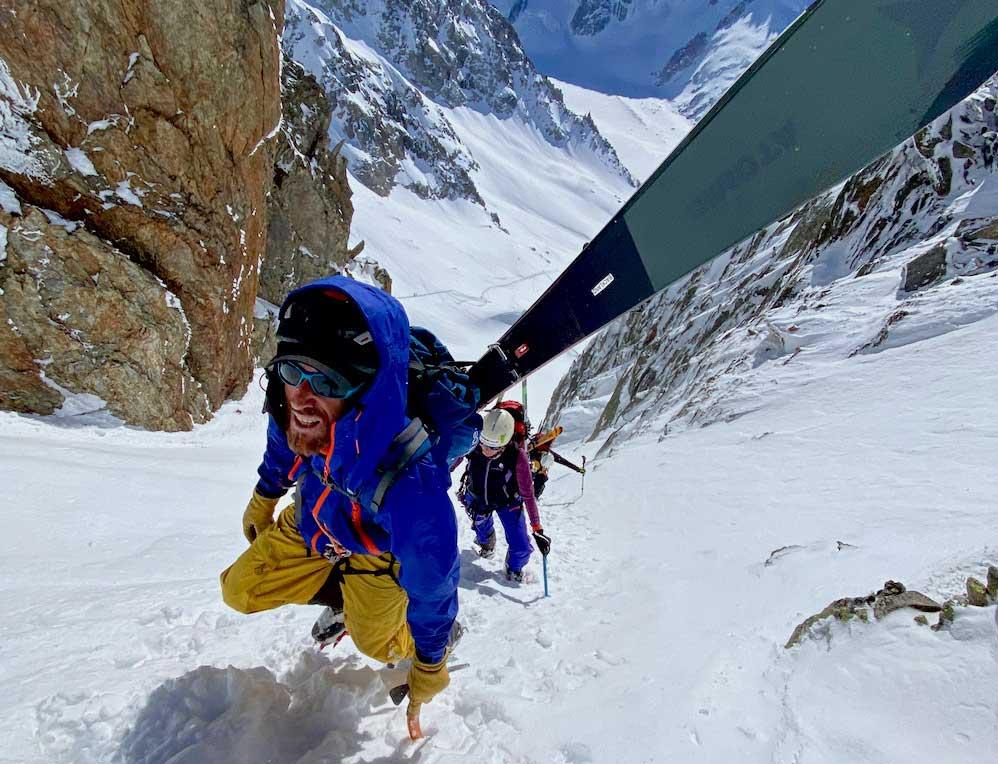 Subiendo al Col du Passon
