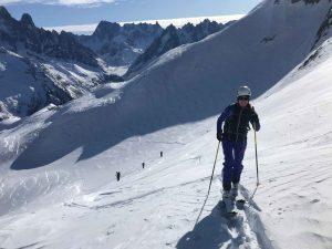 Esquí montaña iniciación