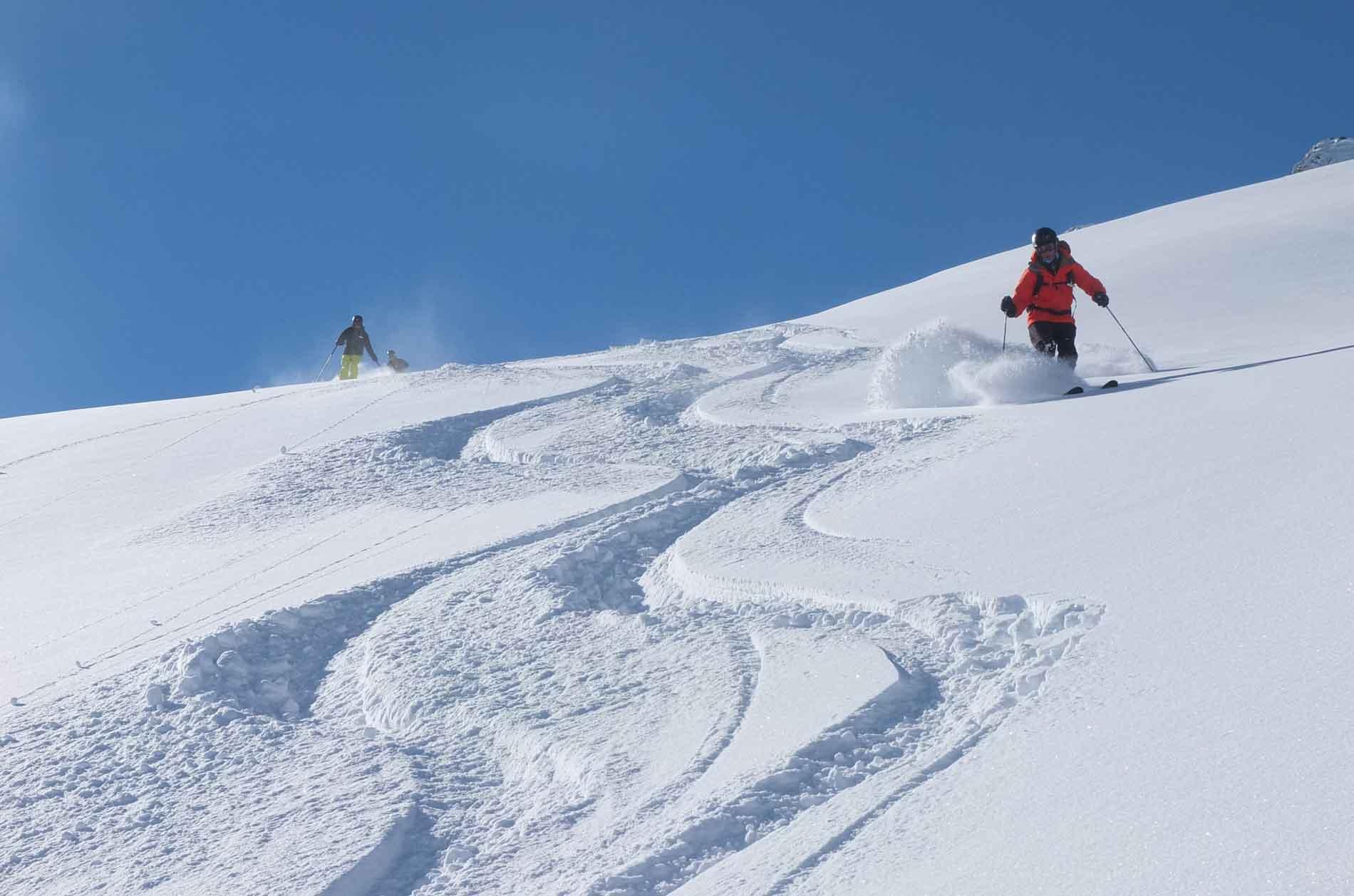 Pack 3 días freeride y esquimo en Chamonix